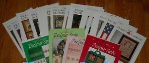 PRAIRIE SCHOOLER counted cross stitch charts Cardstock - YOUR CHOICE