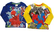Spiderman Jungen-T-Shirts & -Polos mit Zeichentrick/Spaßmotiv
