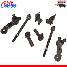 8 PC Kit Tie Rod End Ball Joints Toyota Tacoma 2WD 95-04 Upper Lower Inner Outer