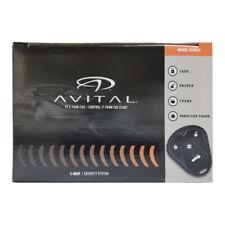 Avital 3100LX 3-Channel Keyless Entry Car Alarm w/ 2 Remotes