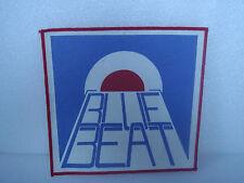 Blue Beat Patch - Back Patch - Medium Size