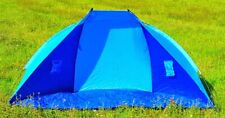 Beach Sunshade Blue Sun Protection Windshield Shelter Tent Seaside
