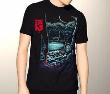 Friday the 13th Horror Shirt, jason voorhees, Premium Graphic T-Shirt S-5XL