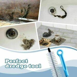 Sink Drain Unblocker Brush Hair Remover Cleaning Kitchen Bathroom Shower Plunger