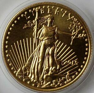 2015 $5 1/10oz Gold American Eagle in Capsule
