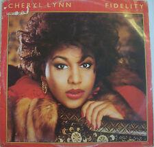 "CHERYL LYNN ~ Fidelity ~ 12"" Single PS"