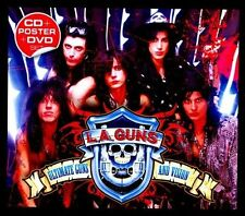 L.A.Guns Ultimate Guns and Vision [CD & DVD]  CD Aug-2011, 2 Discs Sunset Strip