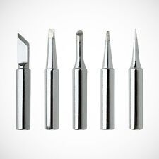 NEW 5pcs Soldering Iron Tips 900M-T-I/B/K/2.4D/3C for Solder Rework Station Tool
