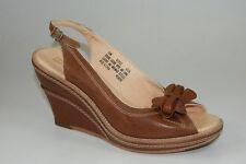 Timberland Boat Company Marge Peep Toe Slingbacks Wedges Women Sandals 67632