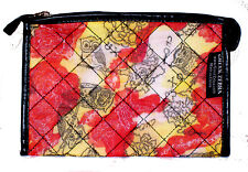 Chi Omega Sorority Quilted Cosmetic Bag