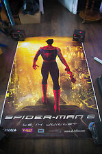 SPIDERMAN 2 Style D 4x6 ft Bus Shelter D/S Movie Poster Original 2004