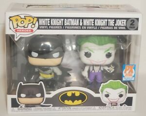 Funko Pop! Heroes DC Universe White Knight Batman & The Joker PX Excl Sold Out