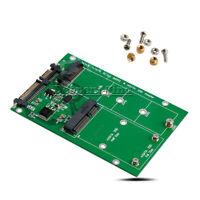 "M.2 NGFF mSATA SSD to SATA B / B+M KEY & 2.5"" III Board Adapter Converter Card"