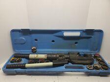 Thomas Betts Tbm14m 14 Ton Hydraulic Crimper Compression Tool U Die With 13 Die