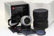 Leica Summicron M 35mm f2 ASPH Lens Silver 11882