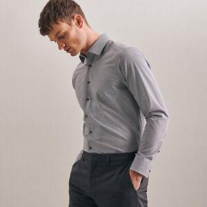 Seidensticker Herren Business Hemd Regular Fit Langarm Kentkragen Bügelfrei