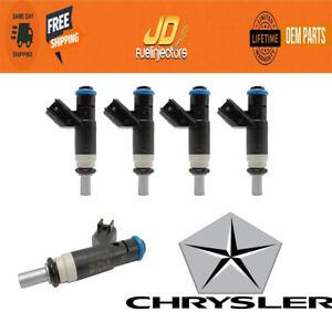 X4 OEM Siemens Fuel Injectors Dodge Caliber 2007 - 2012 2.0 2.4 04891577AC