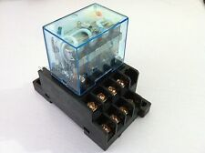 LY4NJ(HH64P-L) AC220V 10A Coil 14-Pin 4PDT 4 Pole Electromagnetic Power Relay