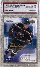 2000 UD PROS & PROSPECTS /1000 MARION GABORIK RC PSA 10 CARDREGISTRYinc. LOW POP