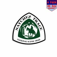 """American Hiking Society Find Your Trail Sticker//Decal Green Hike Approx 3""""x3"""""""