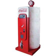 Coca Cola-Vending Machine en Bois Serviette en papier Stand-New & Official In Box