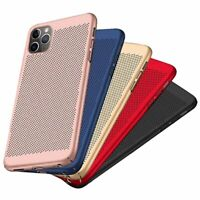 Ultra Slim Mesh Breathable Hard Case Cover for iPhone 11 / 11 Pro / 11 Pro Max