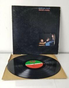 graham nash david crosby s/t self titled gatefold original vinyl 1972 sd7220 lp!