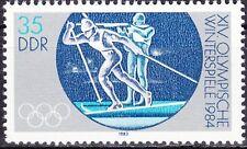 DDR Mi.-Nr. 2842 postfrisch Sperrwert 35 Pf. Olympische Winterspiele in Sarajevo
