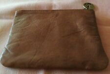 """MANZONI GENUINE COW HIDE ZIP PURSE 6"""" x 5"""" lovely Quality"""