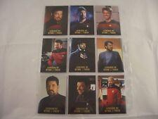 Legends of Star Trek Commander William Riker  L1-L9 0928/1701