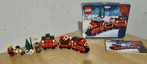 LEGO Christmas Train Set (40138). Complete & with extras.