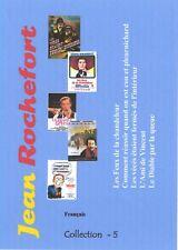Jean Rochefort  Collection 5. Français.  5 films.  NO Subtitles