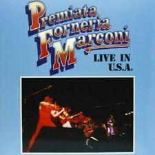 LP PFM PREMIATA FORNERIA MARCONI - LIVE IN USA - vinile 180 gr. SEGNO COPERTINA