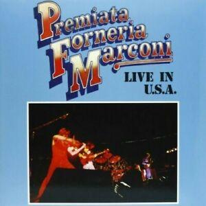 PFM PREMIATA FORNERIA MARCONI - LIVE IN USA - LP vinile 180 gr. DeAgostini
