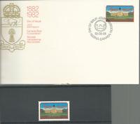 CANADA 1982 REGINA CENTENARY Sc # 967 SINGLE MNH & FDC FREE USA SHIPPING