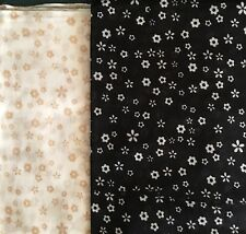 Great for CHEMO CAMEL//Ivory NWT SET of 2 Square COTTON Scarf BLACK//WHITE