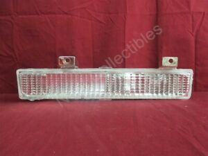 "NOS OEM Oldsmobile FWD ""98"" Bumper Mounted Park Turn Signal 1986 - 90 Clear Left"