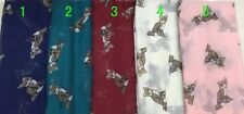 WHOLESALE  10 PCS FOX PRINT SCARVES SCARFS WRAPS JOBLOT