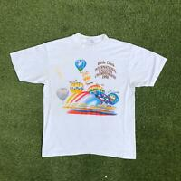 Vintage 1990 BALLOON CHAMPIONSHIP T Shirt XL | Single Stitch 50/50 HANES