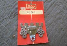Vintage NOS Mallory 29203 Spark Plug Wire Routing Towers 2-4 Terminal Mount NICE