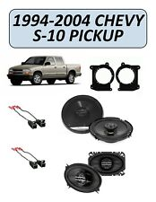 Fits Chevy S-10 Pickup 1994-2004 Factory Speaker Upgrade Combo Kit, PIONEER S10