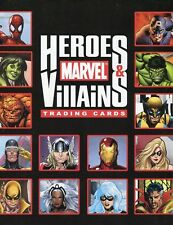 Marvel Heroes & Villains Card Album