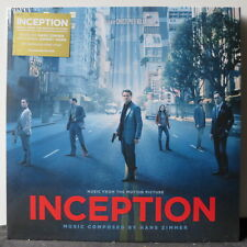 'INCEPTION' Soundtrack Hans Zimmer' Limited Edition Clear Vinyl LP NEW & SEALED