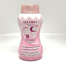 Natriv BB & CC snail powder face & body size 40 g. free shipping from Thailand