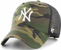 Boston Red Sox Cap MLB Baseball 47 Brand Cap Kappe Slouch Flach geschnitten