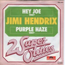 7inch JIMI HENDRIX hey joe / purple haze 2 SUPER OLDIES GERMAN EX (S0860)