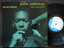 JOHN COLTRANE Blue Train LP BLUE NOTE 1577 EAR DG MONO Lee Morgan Curtis Fuller