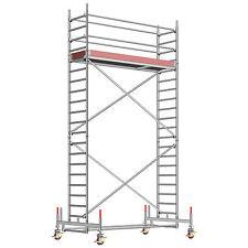 Layher Fahrgerüst Uni Standard 1104 Alu | Rollrüstung | Rollgerüst | Gerüst