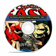 Action Adventure Comics, Vol 1, Surprise Adventures, Mystery, Golden Age DVD D44