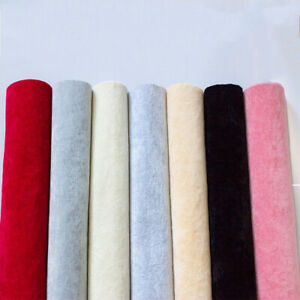 50cm*145cm Self-adhesive Ice Flocking Velvet Fabric for Jewelry Box